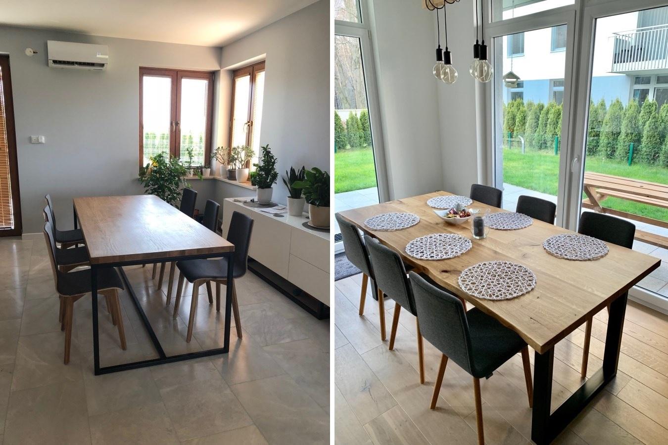 Nowoczesna jadalnia: jakie krzesła do drewnianego stołu?